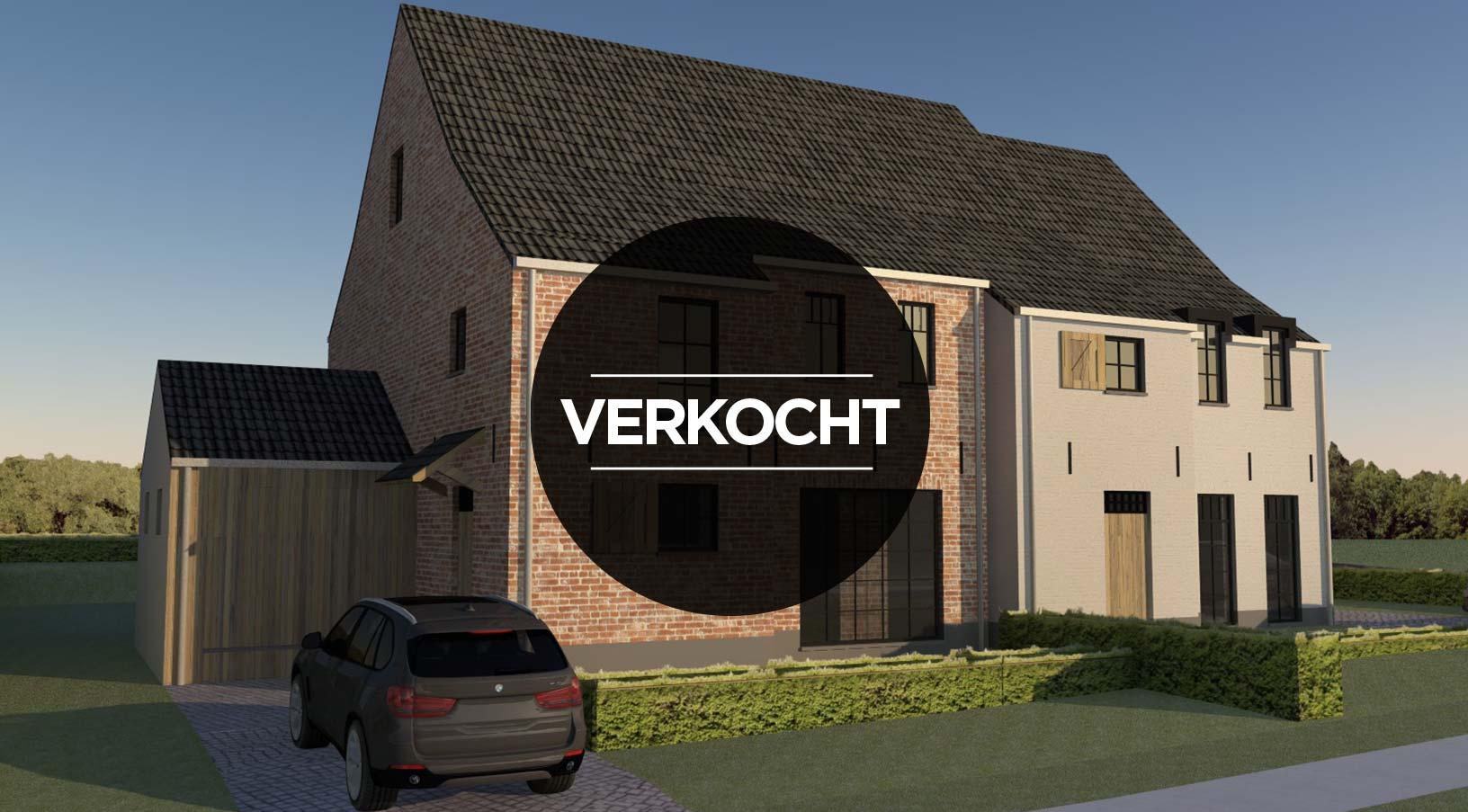 Lot 2 – Holsbeek – halfopen woning >>